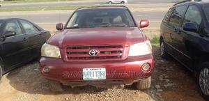 Toyota Highlander 2004 Limited V6 FWD Red | Cars for sale in Abuja (FCT) State, Kubwa