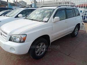 Toyota Highlander 2007 V6 White | Cars for sale in Lagos State, Magodo