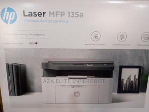 HP Laser MFP 135a   Printers & Scanners for sale in Lagos State, Ikeja