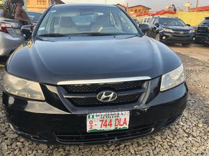 Hyundai Sonata 2008 Black | Cars for sale in Lagos State, Agege