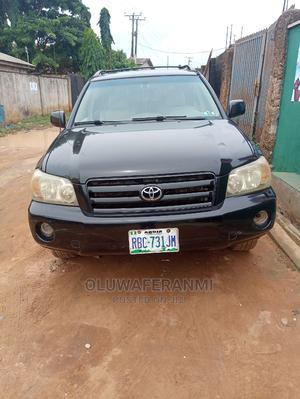 Toyota Highlander 2005 V6 4x4 Black   Cars for sale in Lagos State, Ifako-Ijaiye
