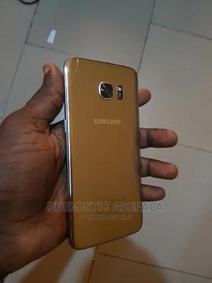 Samsung Galaxy S7 edge 32 GB Gold   Mobile Phones for sale in Ogun State, Ipokia