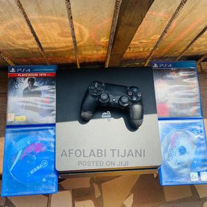 UK USED PS4 With 1 Pad 4 CD'S   Video Game Consoles for sale in Lagos State, Surulere