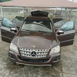 Mercedes-Benz M Class 2010 ML 350 4Matic Brown   Cars for sale in Lagos State, Ilupeju