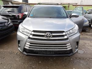 Toyota Highlander 2016 XLE V6 4x2 (3.5L 6cyl 6A) Gray | Cars for sale in Lagos State, Ifako-Ijaiye