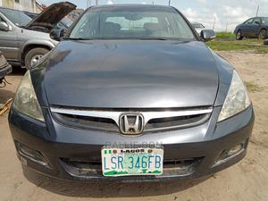 Honda Accord 2007 Sedan EX-L V-6 Automatic Gray   Cars for sale in Lagos State, Amuwo-Odofin