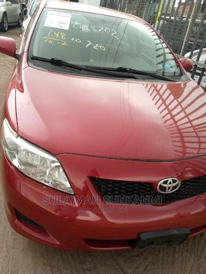 Toyota Corolla 2009 1.8 Advanced Red | Cars for sale in Lagos State, Alimosho