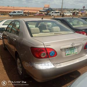 Toyota Corolla 2003 Sedan Automatic Gold | Cars for sale in Oyo State, Ibadan