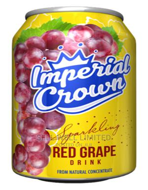 Imperial Crown Sparkling Red Grape Drink | Meals & Drinks for sale in Lagos State, Oshodi