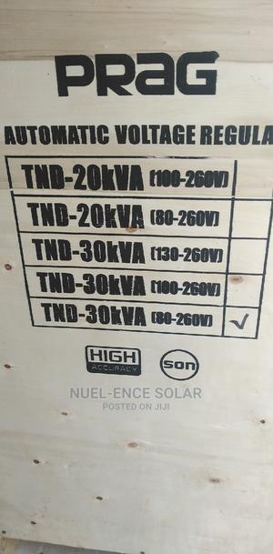 30kva 80-260v Prag Automatic Voltage Regulator   Electrical Equipment for sale in Lagos State, Ojo