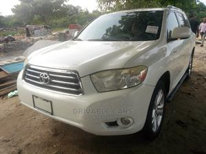 Toyota Highlander 2009 Limited White   Cars for sale in Lagos State, Amuwo-Odofin