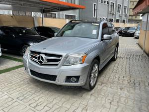Mercedes-Benz GLK-Class 2010 350 4MATIC Silver | Cars for sale in Lagos State, Ikeja