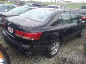 Hyundai Sonata 2008 2.4 Black | Cars for sale in Lagos State, Agege
