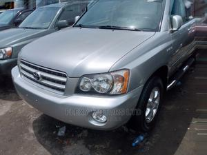 Toyota Highlander 2003 Limited V6 AWD Silver | Cars for sale in Lagos State, Apapa