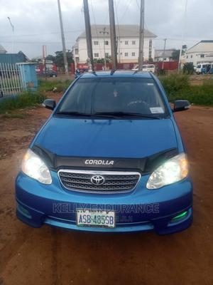 Toyota Corolla 2008 Verso 1.8 VVT-i Automatic Blue | Cars for sale in Delta State, Oshimili South