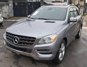 Mercedes-Benz M Class 2012 ML 350 4Matic Silver   Cars for sale in Lagos State, Surulere