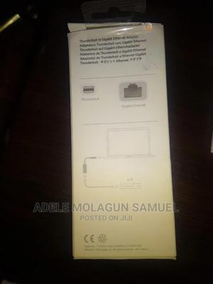 Apple Thunderbolt To Gigabit Ethernet Adapter | Computer Accessories  for sale in Abuja (FCT) State, Kubwa