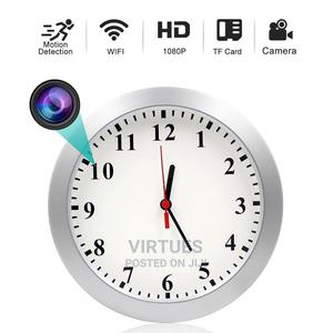Motion Detection Hidden Camera Clock Wall Clocks APP Home | Security & Surveillance for sale in Lagos State, Ikeja