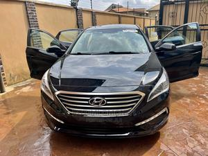 Hyundai Sonata 2015 Black | Cars for sale in Lagos State, Magodo