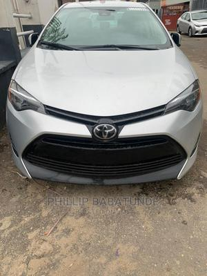 Toyota Corolla 2019 LE (1.8L 4cyl 2A) Silver   Cars for sale in Lagos State, Yaba