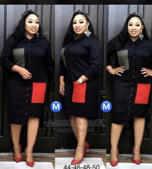 A Shirt Dress With Side Pockets   Clothing for sale in Abuja (FCT) State, Garki 1