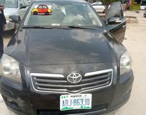 Toyota Avensis 2007 Black | Cars for sale in Abuja (FCT) State, Asokoro