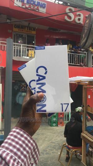 New Tecno Camon 17 128 GB Black   Mobile Phones for sale in Lagos State, Ikeja