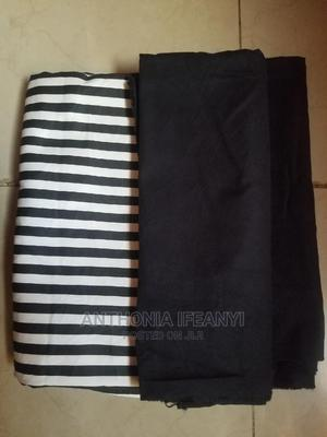 Male Cotton Stripe and Black Fabric | Clothing for sale in Lagos State, Alimosho