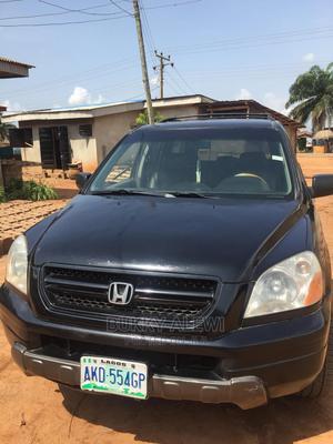 Honda Pilot 2004 EX 4x4 (3.5L 6cyl 5A) Black | Cars for sale in Ogun State, Ilaro