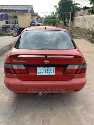 Nissan Primera 2001 Wagon Red   Cars for sale in Lagos State, Ikeja