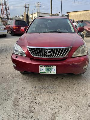 Lexus RX 2009 Red | Cars for sale in Lagos State, Alimosho