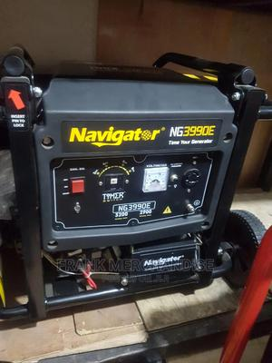 New 3.5KVA Navigator Powerful Generator NG3990E 100%Copper | Electrical Equipment for sale in Lagos State, Amuwo-Odofin