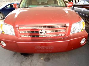 Toyota Highlander 2003 Red | Cars for sale in Lagos State, Surulere
