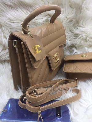 Chanel Handbag With Purse. Classic Quality Chanel Brown Bag   Bags for sale in Lagos State, Apapa