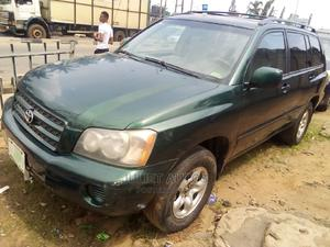 Toyota Highlander 2004 Green   Cars for sale in Lagos State, Ikeja