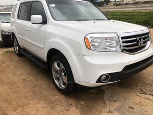 Honda Pilot 2014 White   Cars for sale in Abuja (FCT) State, Kubwa