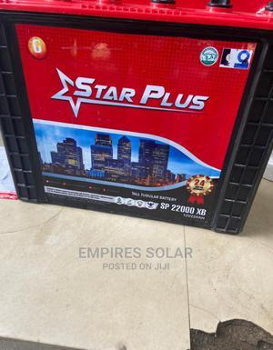 Star Plus 220ah 12v Tubular Battery | Solar Energy for sale in Lagos State, Ikeja