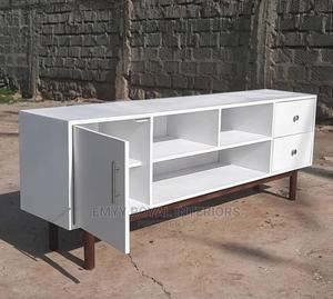 Quality Wooden Television Stand   Furniture for sale in Abuja (FCT) State, Central Business Dis