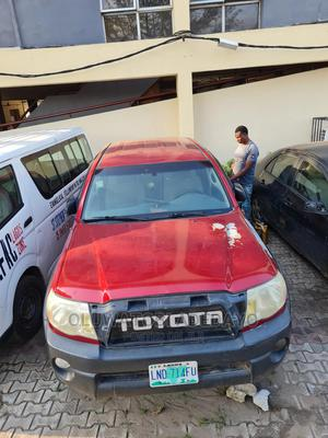 Toyota Tacoma 2007 Red | Cars for sale in Lagos State, Yaba