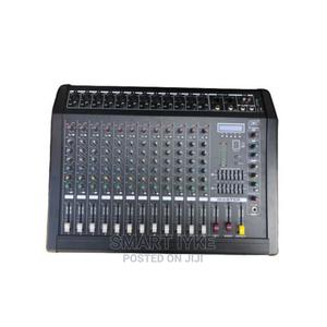 12 Channels Powered Mixer With In-Bult Amplifier, Bluetooth   Audio & Music Equipment for sale in Lagos State, Ojo