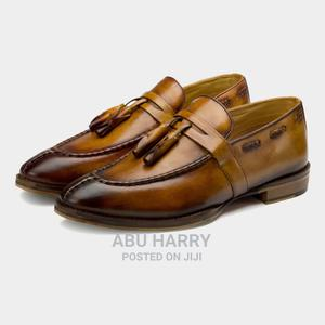 Luxury Brown Leather Loafers | Shoes for sale in Lagos State, Ilupeju