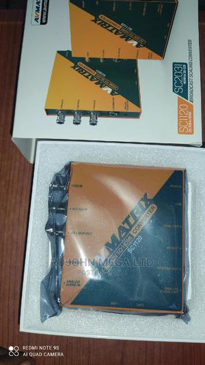 Avmatrix Sc1120 3g-Sdi to HDMI AV Scaling Converter   Accessories & Supplies for Electronics for sale in Lagos State, Ojo
