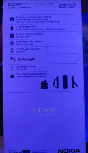 New Nokia G20 128 GB Black | Mobile Phones for sale in Abuja (FCT) State, Wuse