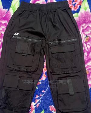 Premiumstyled Black Cargo Trouser | Clothing for sale in Lagos State, Surulere