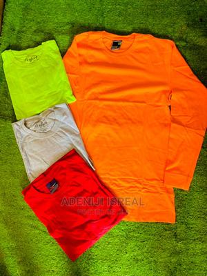 Long Sleeves Plain T-Shirt   Clothing for sale in Oyo State, Ibadan