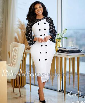 Elegant Classic New Female Quality Fitted Gown   Clothing for sale in Lagos State, Ikeja