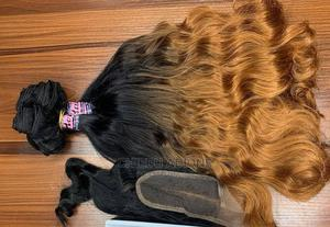 Ombre Hair Plus Closure   Hair Beauty for sale in Abia State, Umuahia