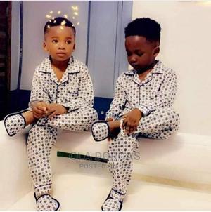 Unisex Children Pyjamas Night Wear Cotton | Children's Clothing for sale in Lagos State, Alimosho
