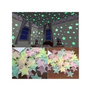 100pcs 3D Stars Glow in the Dark Wall Stickers Luminous | Home Accessories for sale in Lagos State, Alimosho