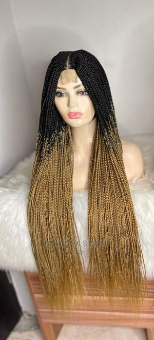 Black Gold Mixed Braid Wig   Hair Beauty for sale in Anambra State, Awka